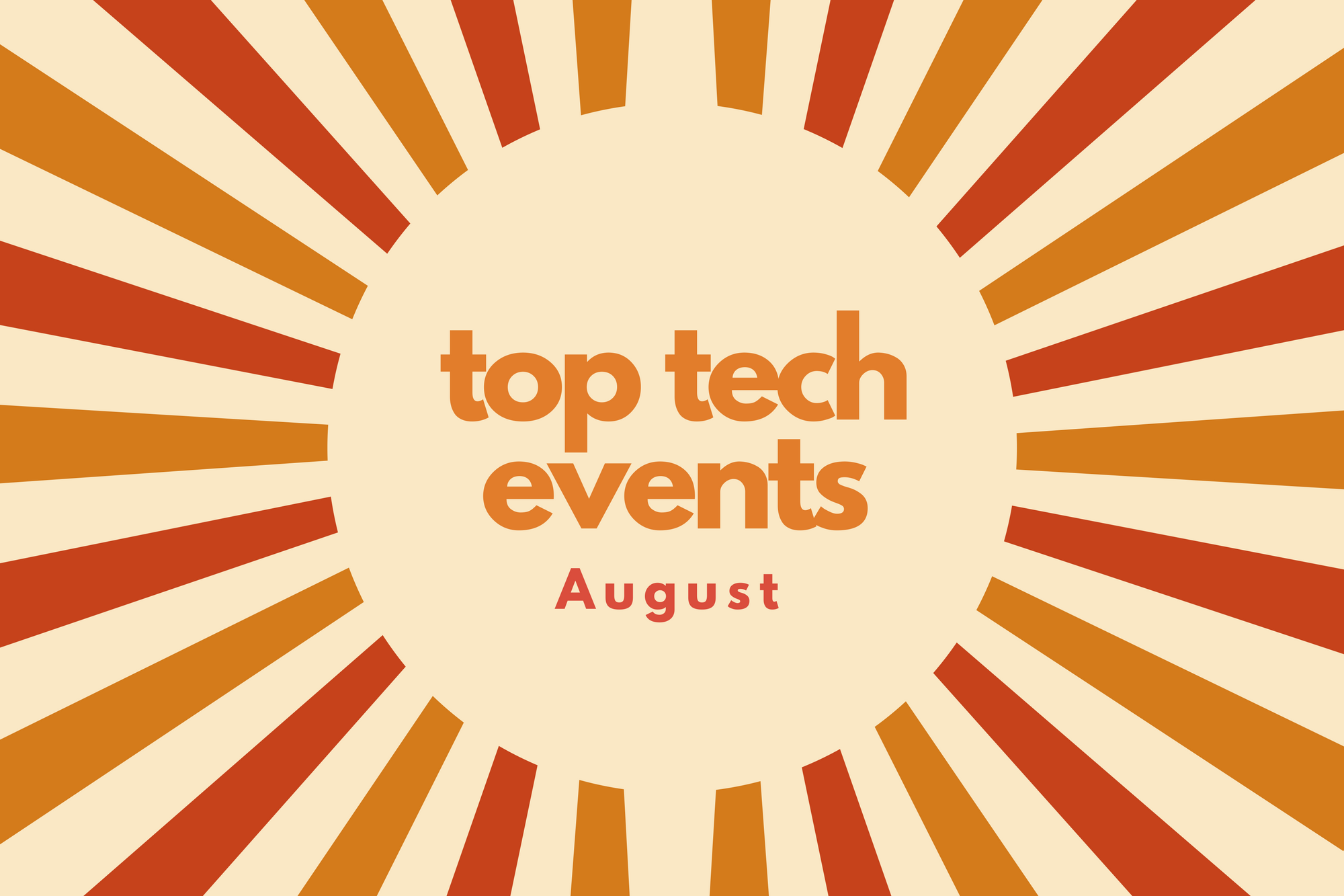 top tech events